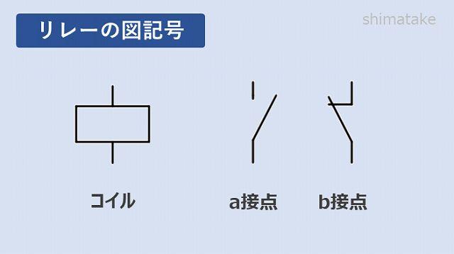 リレー図記号