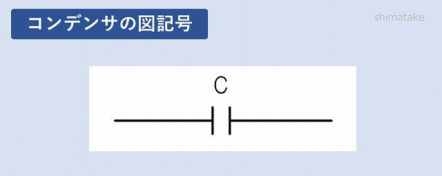 コンデンサの図記号