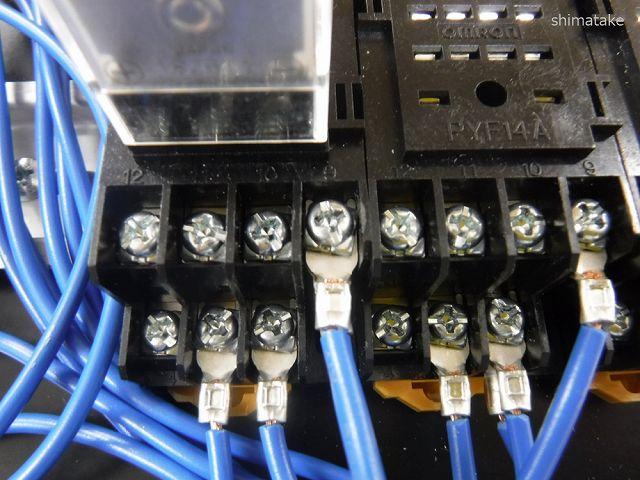 端子台へ接続