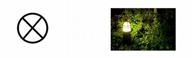 庭園灯図記号