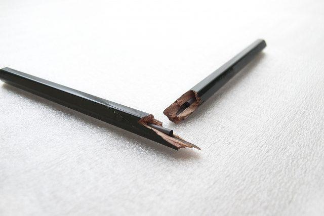 折れた鉛筆_負ける