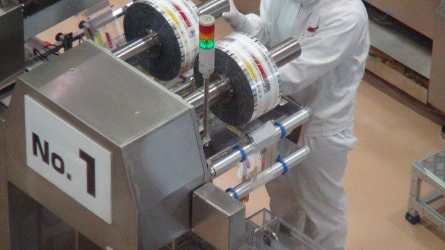 生産工場のライン