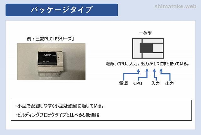 PLCパッケージタイプ