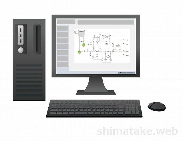 中央監視システムPCイメージ